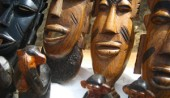 the gambia Wood carving